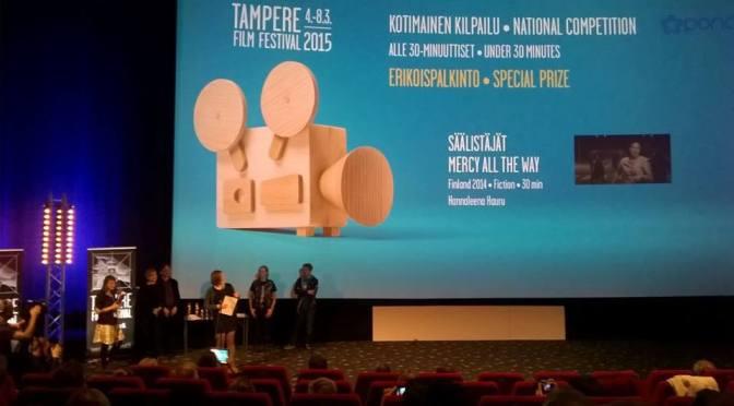 """""""Säälistäjät"""": Special Prize at Tampere Film Festival"""